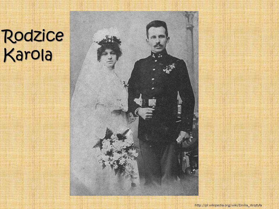 http://pl.wikipedia.org/wiki/Emilia_Wojtyła RodziceKarola