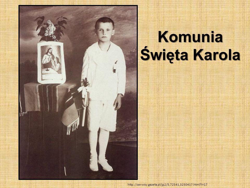 Komunia Święta Karola http://serwisy.gazeta.pl/jp2/5,72541,3250417.html?i=17