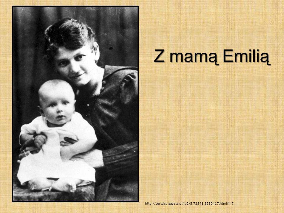 Z mamą Emilią http://serwisy.gazeta.pl/jp2/5,72541,3250417.html?i=7