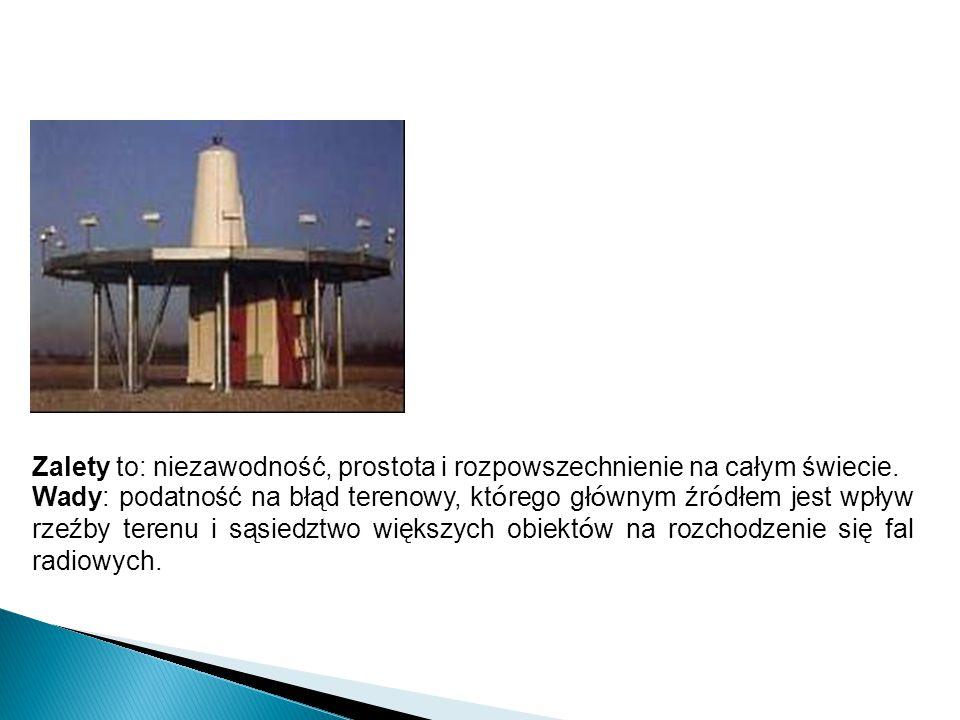 DVOR - (Doppler Very High Frequency Omnidirectional Radio Range) - dopplerowska radiolatarnia ogólnokierunkowa VHF;
