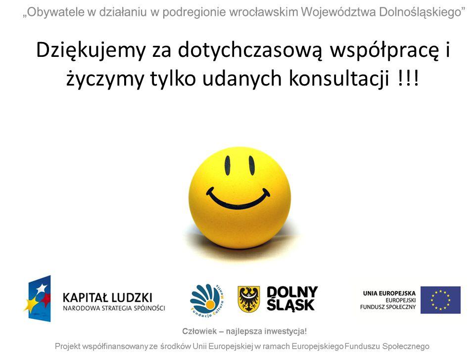 Dziękujemy za dotychczasową współpracę i życzymy tylko udanych konsultacji !!!