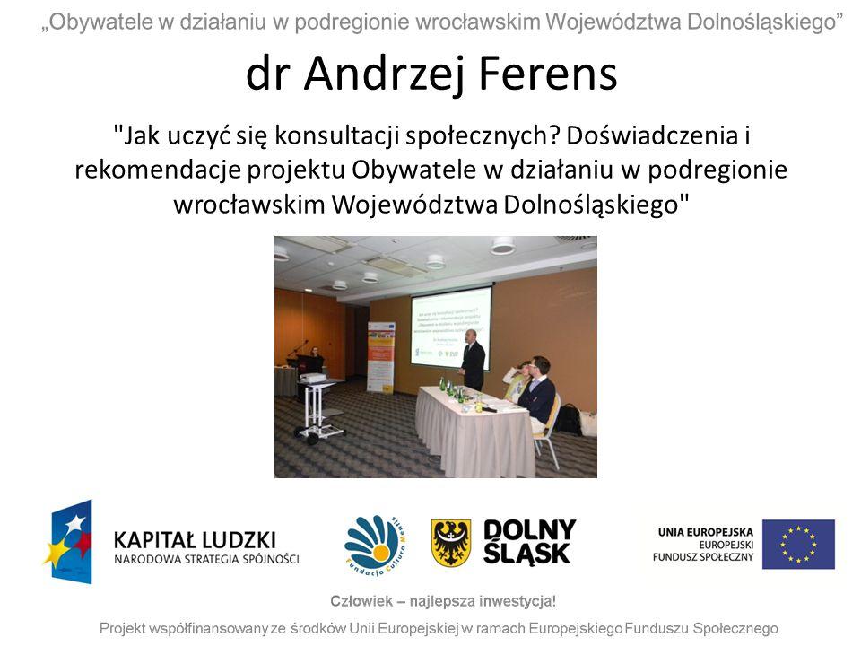 dr Andrzej Ferens