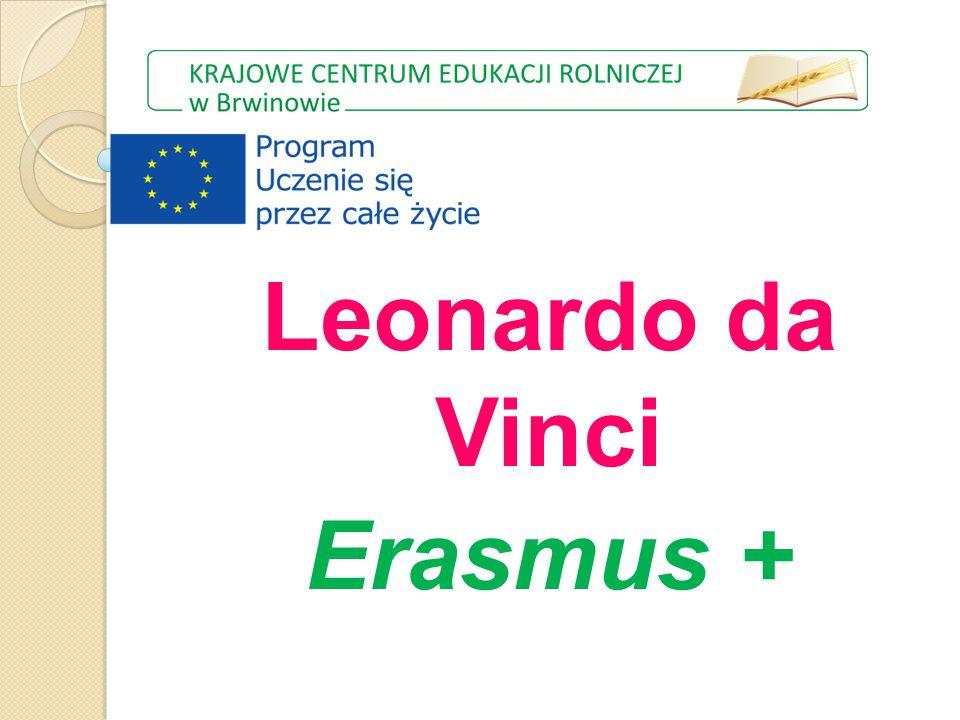 Leonardo da Vinci Erasmus +