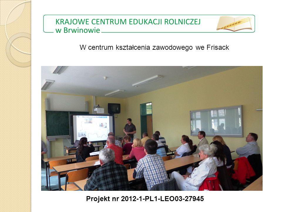 W centrum kształcenia zawodowego we Frisack