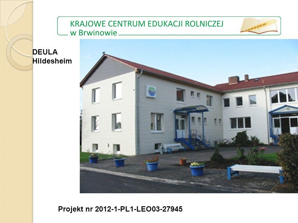 Projekt nr 2012-1-PL1-LEO03-27945 DEULA Hildesheim