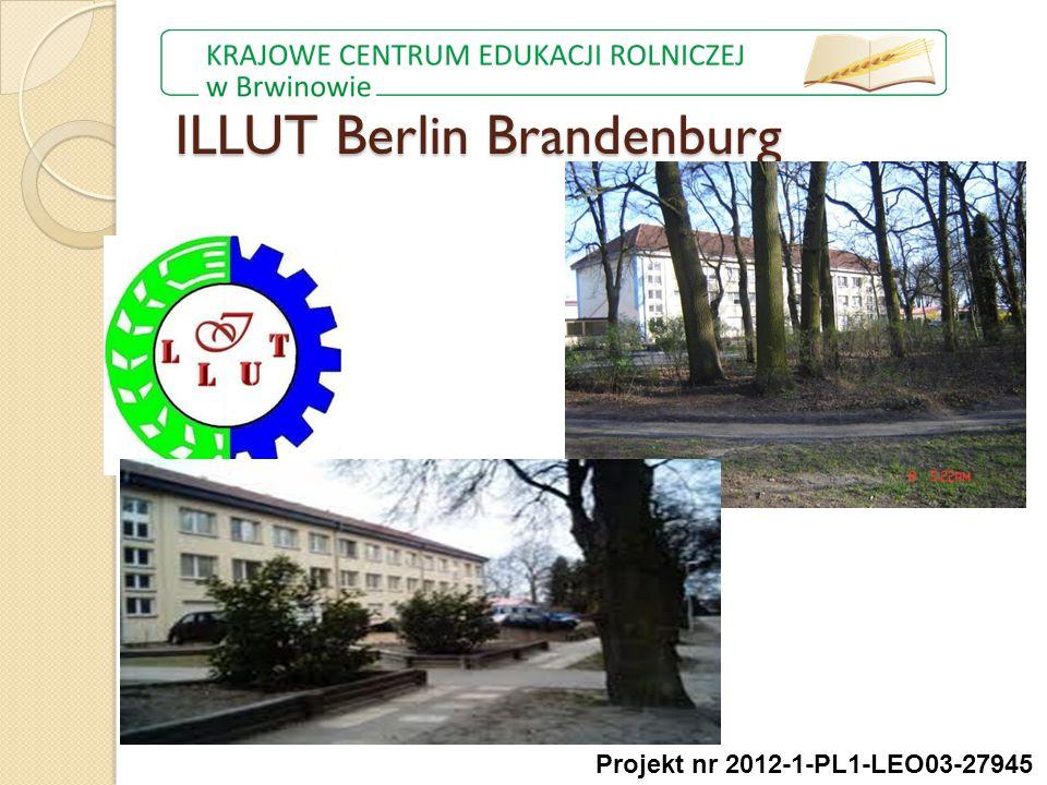 ILLUT Berlin Brandenburg Projekt nr 2012-1-PL1-LEO03-27945