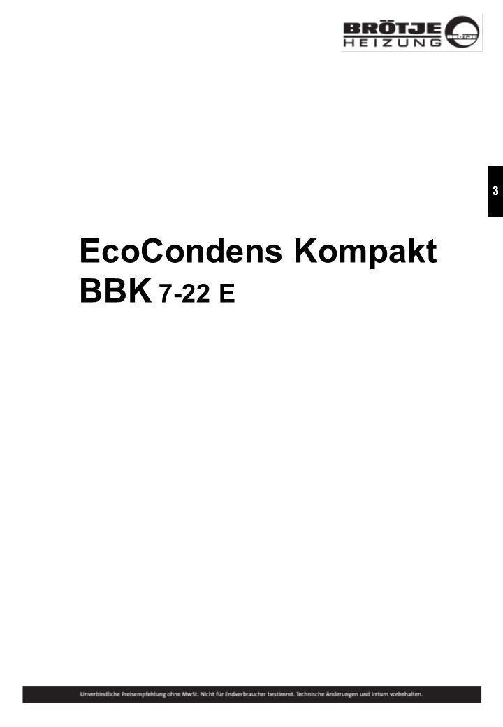 EcoCondens Kompakt BBK 7-22 E