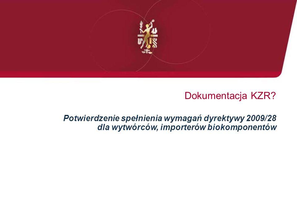 Dokumentacja KZR.