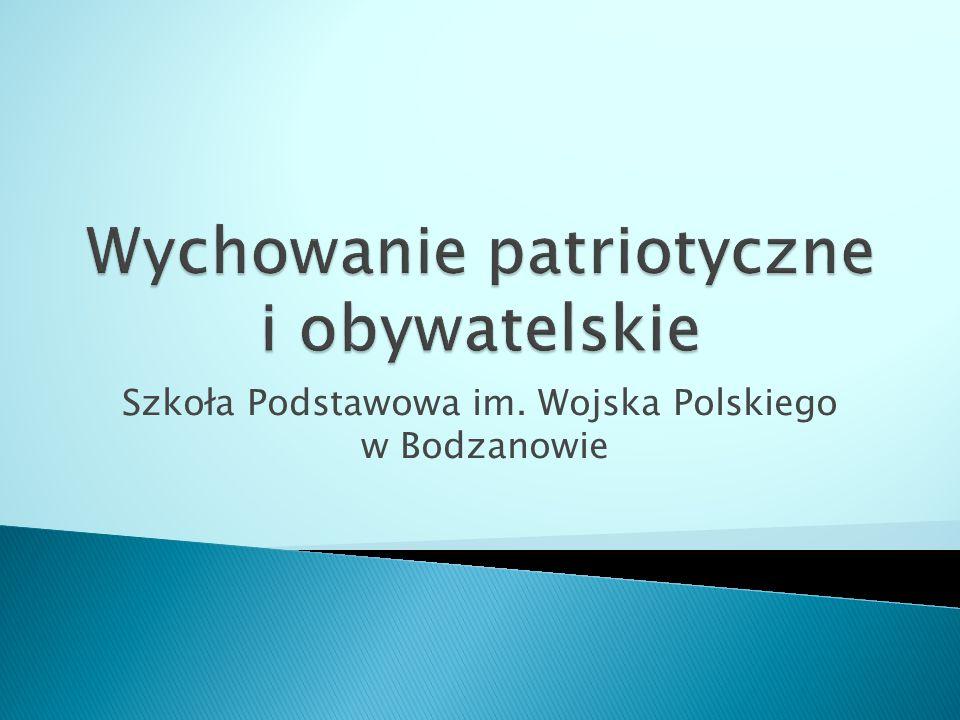 Szkoła Podstawowa im. Wojska Polskiego w Bodzanowie
