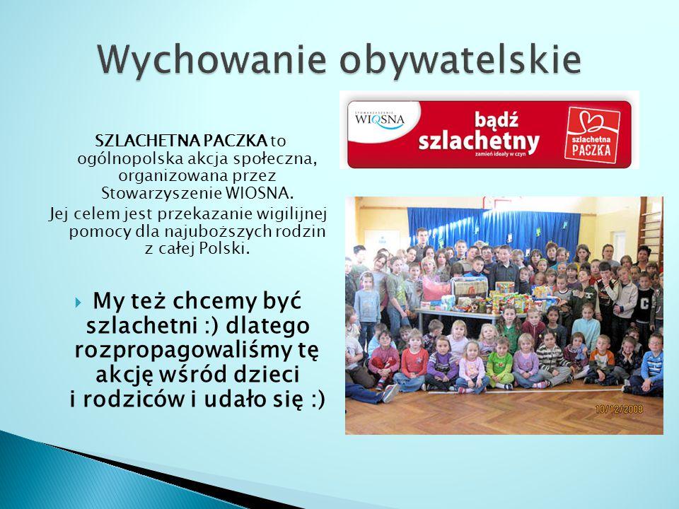 SZLACHETNA PACZKA to ogólnopolska akcja społeczna, organizowana przez Stowarzyszenie WIOSNA.