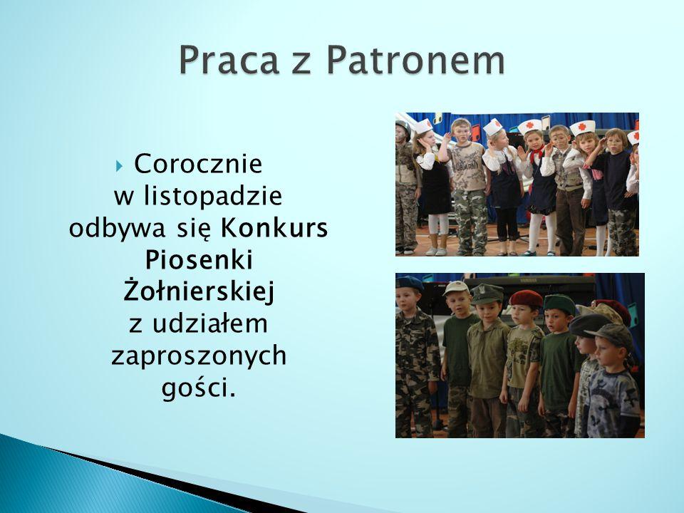  Corocznie w listopadzie odbywa się Konkurs Piosenki Żołnierskiej z udziałem zaproszonych gości.