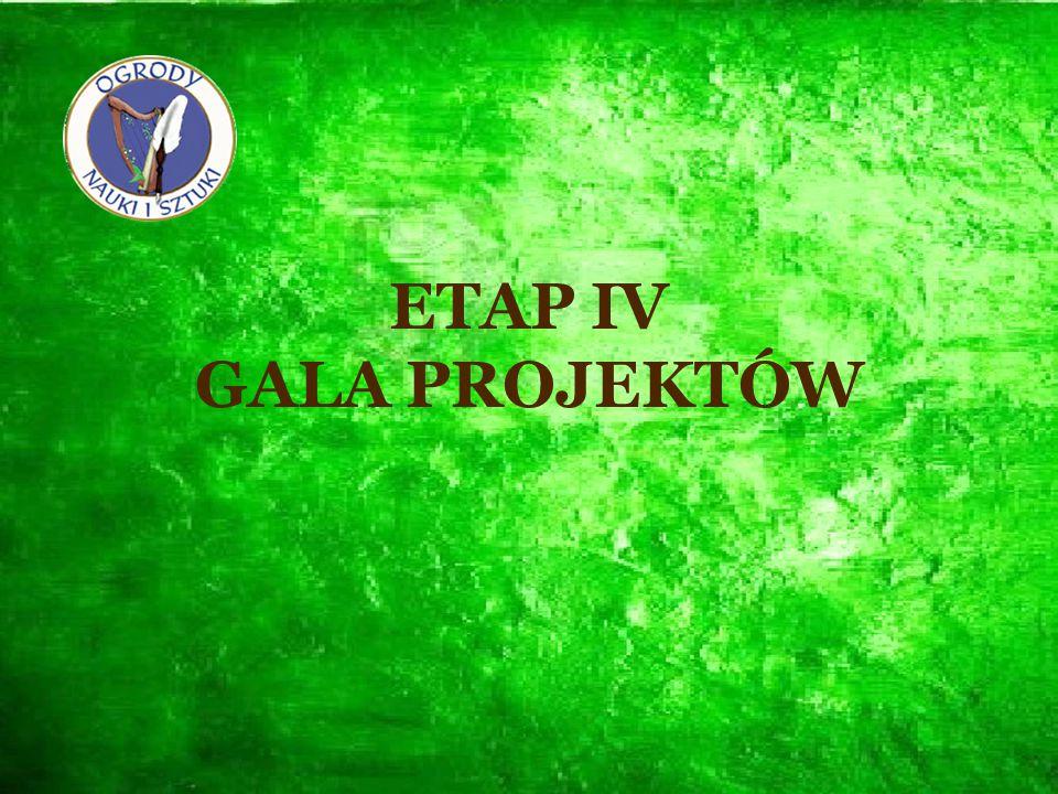 ETAP IV GALA PROJEKTÓW