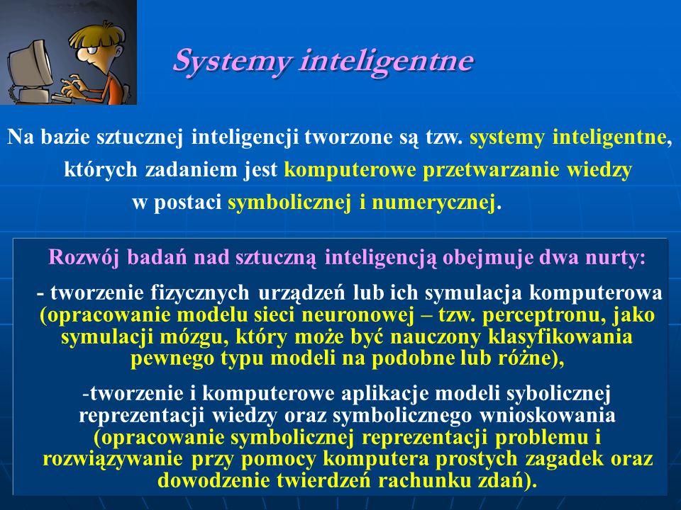 Na bazie sztucznej inteligencji tworzone są tzw.