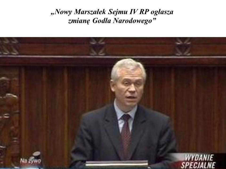 Z wdzięczności dla narodu podjęto pierwsze decyzje gospodarcze IV RP