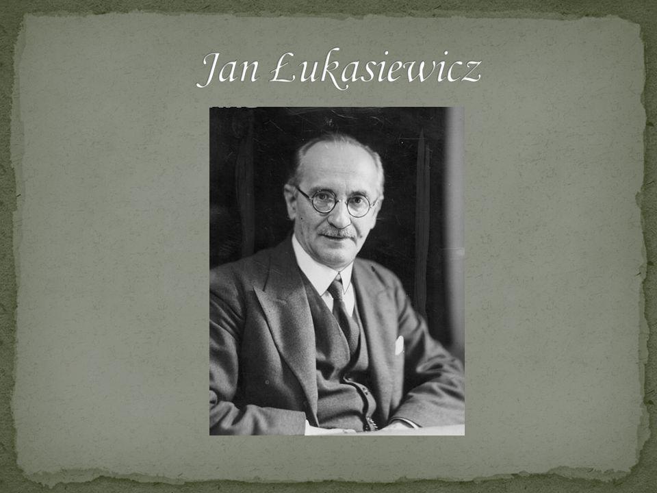 Jan Łukasiewicz (ur.21 grudnia 1878 we Lwowie, zm.