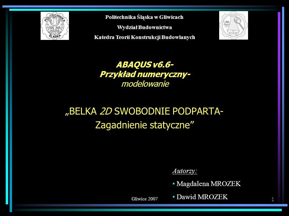 © MiDM MODELOWANIE 12 ASSEMBLY- punkt reprezentacyjny Tworzenie punktu reprezentacyjnego