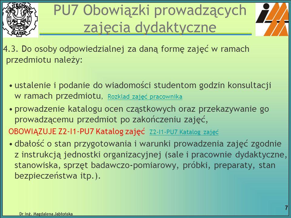 P-RM-2 Proces dyplomowania – praca magisterska Student realizuje pracę i zobowiązany jest do uzupełniania Karty konsultacji pracy dyplomowej Z2-P-RM-2, którą otrzymuje od kierującego pracą.