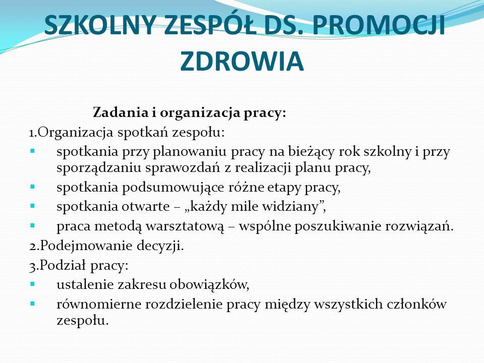 SZKOLNY ZESPÓŁ DS.