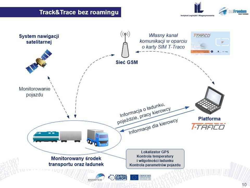 Track&Trace bez roamingu 10