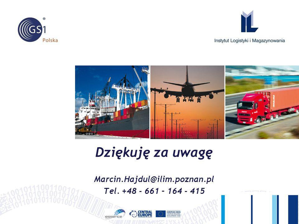 Dziękuję za uwagę Marcin.Hajdul@ilim.poznan.pl Tel. +48 - 661 – 164 - 415