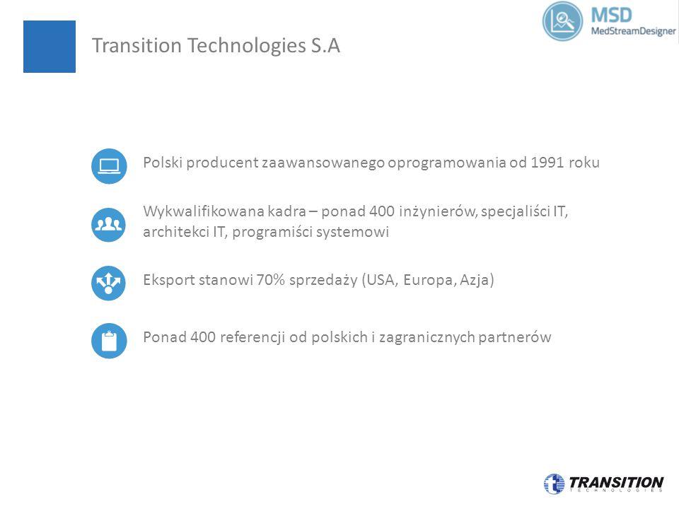 Eksport stanowi 70% sprzedaży (USA, Europa, Azja) Wykwalifikowana kadra – ponad 400 inżynierów, specjaliści IT, architekci IT, programiści systemowi Ponad 400 referencji od polskich i zagranicznych partnerów Polski producent zaawansowanego oprogramowania od 1991 roku