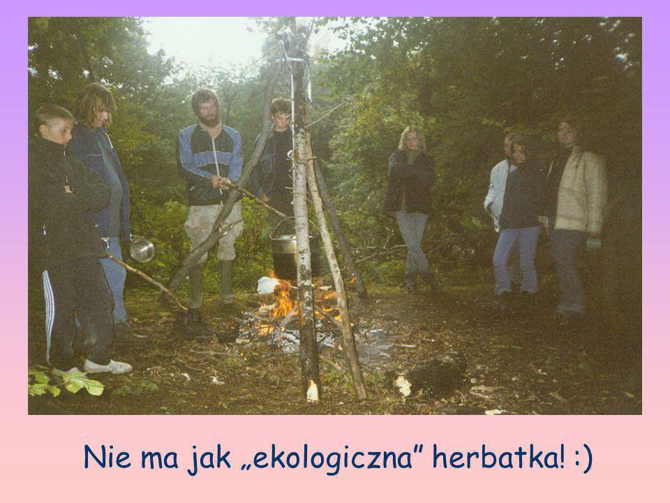 """Nie ma jak """"ekologiczna herbatka! :)"""