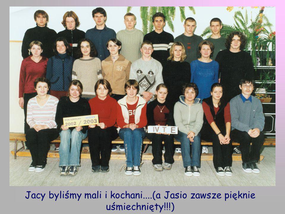 Jacy byliśmy mali i kochani....(a Jasio zawsze pięknie uśmiechnięty!!!)