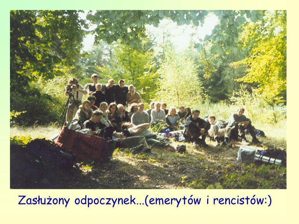 Zasłużony odpoczynek...(emerytów i rencistów:)