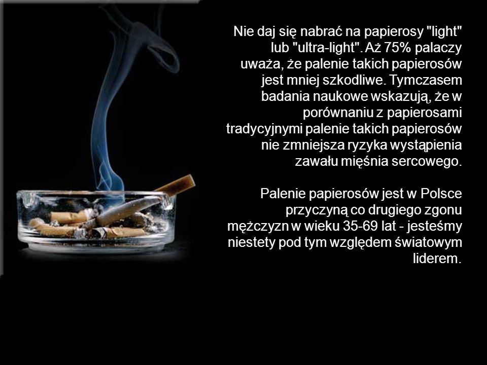 Nie daj się nabrać na papierosy