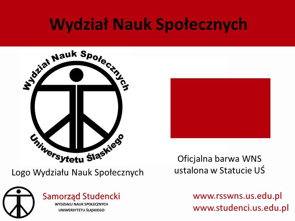 Wydział Nauk Społecznych Logo Wydziału Nauk Społecznych Oficjalna barwa WNS ustalona w Statucie UŚ