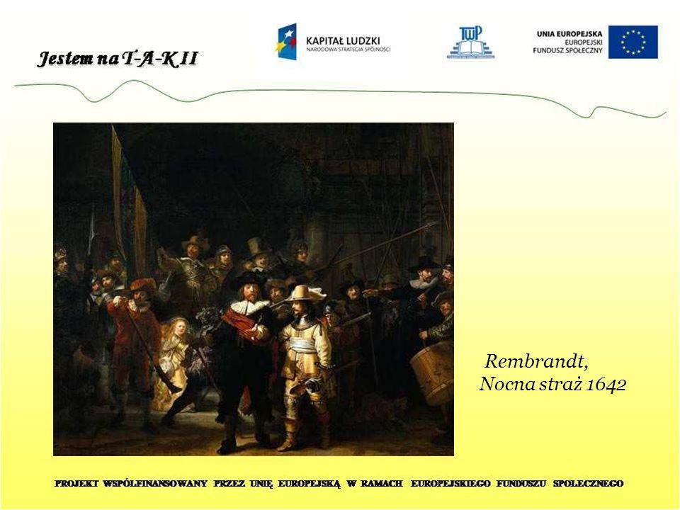 Rembrandt, Nocna straż 1642