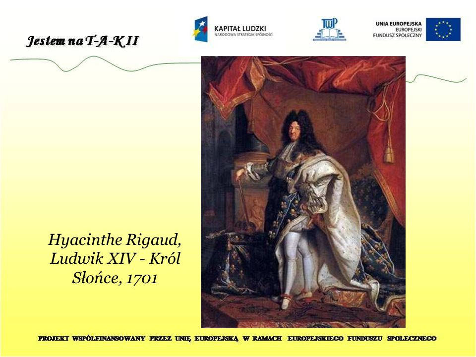 Hyacinthe Rigaud, Ludwik XIV - Król Słońce, 1701