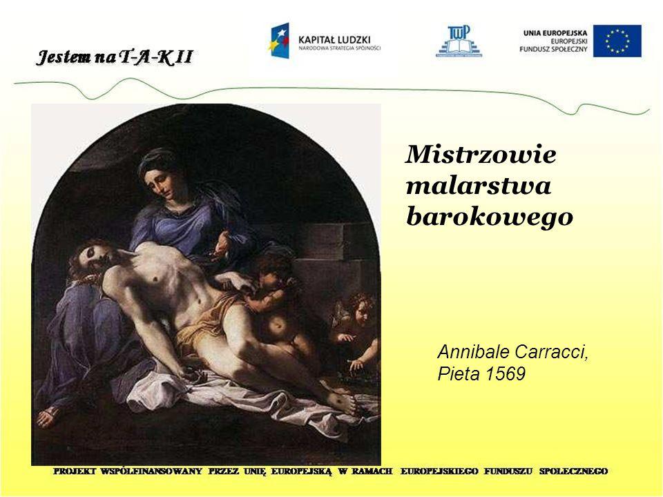 Mistrzowie malarstwa barokowego Annibale Carracci, Pieta 1569