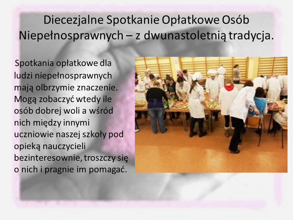 Diecezjalne Spotkanie Opłatkowe Osób Niepełnosprawnych – z dwunastoletnią tradycja.