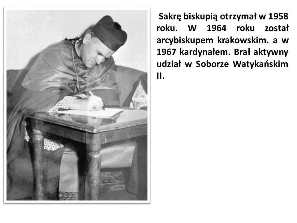 Sakrę biskupią otrzymał w 1958 roku.W 1964 roku został arcybiskupem krakowskim.