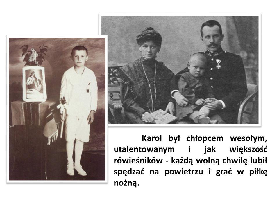 Od września 1930 roku Karol Wojtyła rozpoczął naukę w 8-letnim Państwowym Gimnazjum Męskim im.