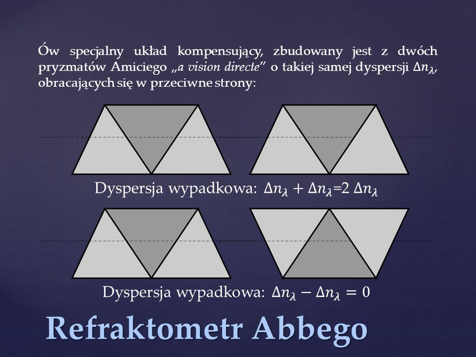 Metoda Obreimowa - porównawcza metoda immersyjna, stosowana do pomiaru bezkształtnych kawałków szkła, soczewek itp.