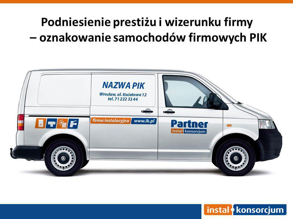 Podniesienie prestiżu i wizerunku firmy – oznakowanie samochodów firmowych PIK