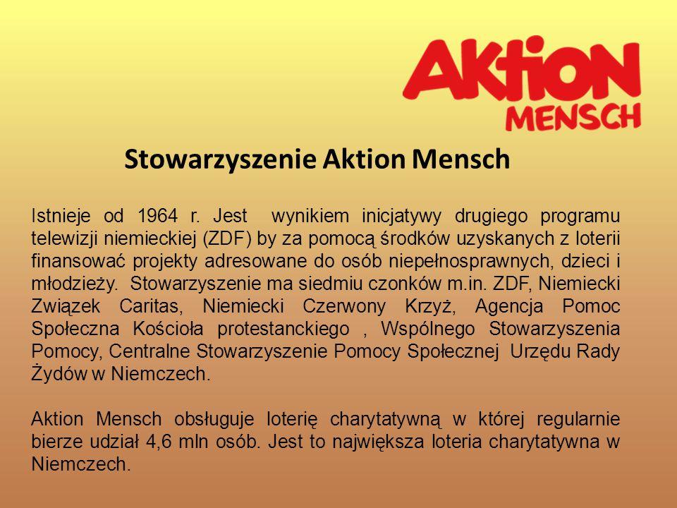 Stowarzyszenie Aktion Mensch Istnieje od 1964 r.
