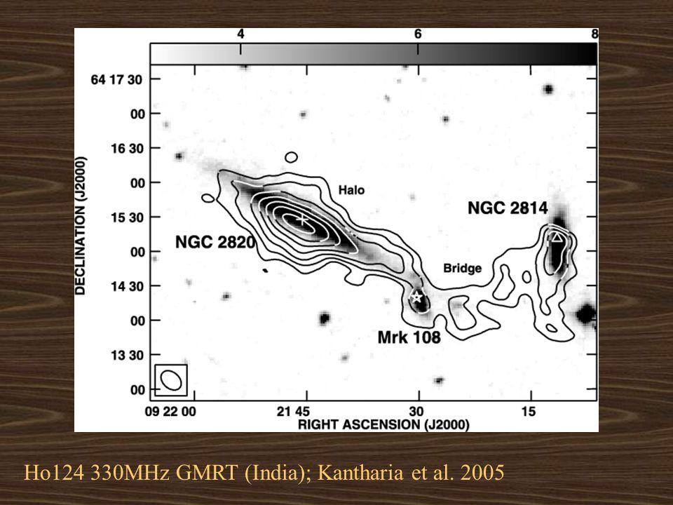 Ho124 330MHz GMRT (India); Kantharia et al. 2005