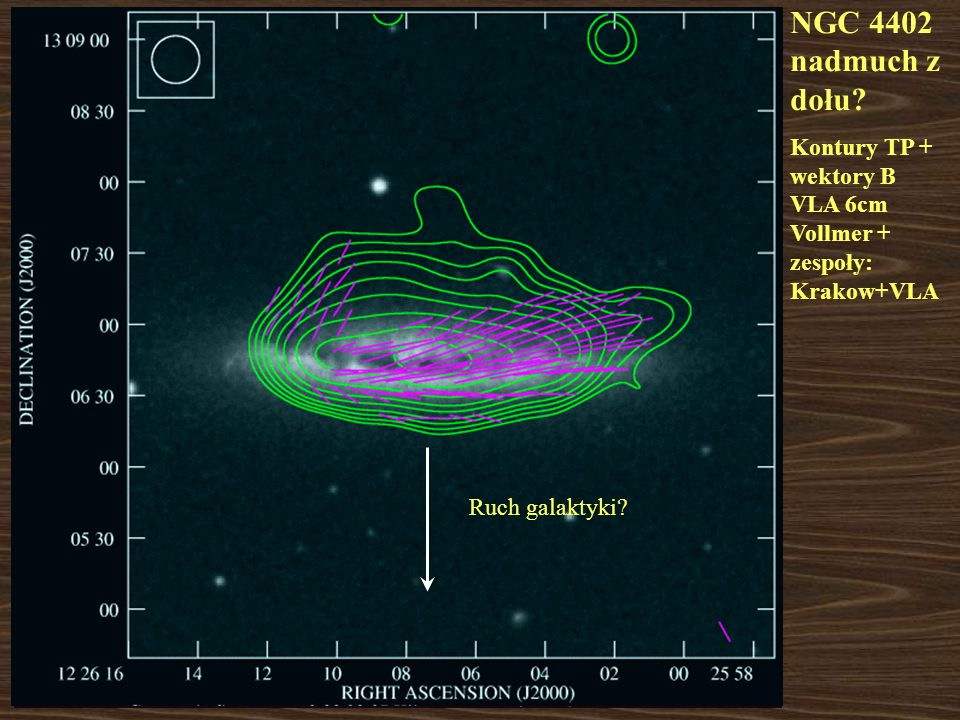Otoczenie M86 NGC 4438 H  (czerwony) Kenney et al.