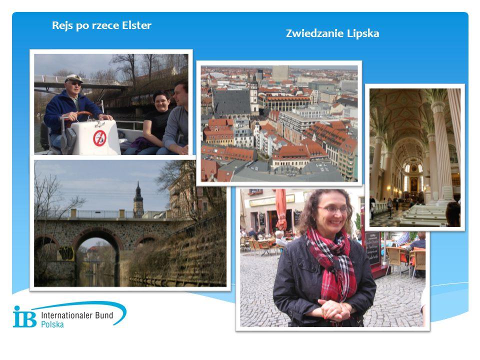 - Rejs po rzece Elster Zwiedzanie Lipska