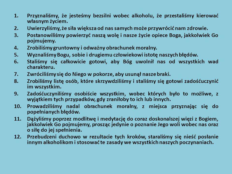 Materiały w terapii uzależnionych osób można podzielić na: Profilaktykę antyuzależnieniową Oddziaływanie na praktykujących narkomanów (przerwanie zażywania środków, w konsekwencji podjęcie odpowiedniego leczenia) Terapię odwykową wśród osób leczących się, wzmacnianie pozytywne, bodziec utrzymujący w trzeźwości Dodatkowym walorem literatury jest jej relaksacyjna funkcja (odprężenie, obniżenie poziomu stresu, napięć emocjonalnych).