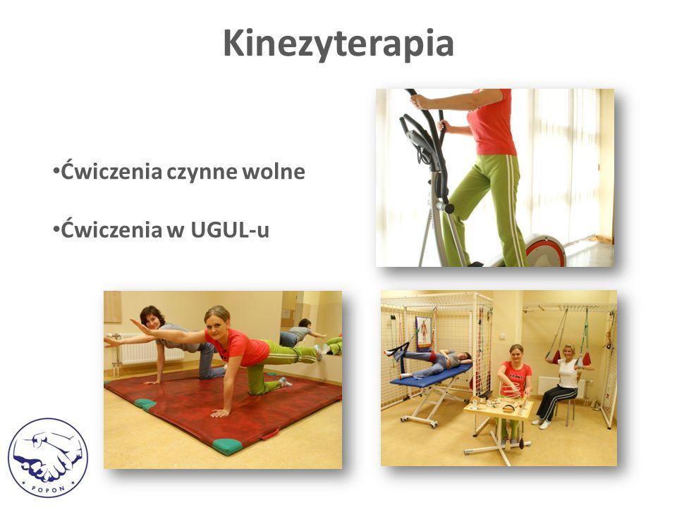 Ćwiczenia czynne wolne Ćwiczenia w UGUL-u Kinezyterapia