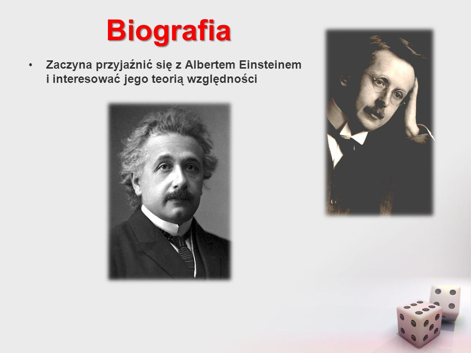Biografia Opuszcza Zurich w 1930 i udaje się na Uniwersytet w Getyndze jako następca Hilberta jednak po 3 latach musi się przenieść do Princeton w New Jersey