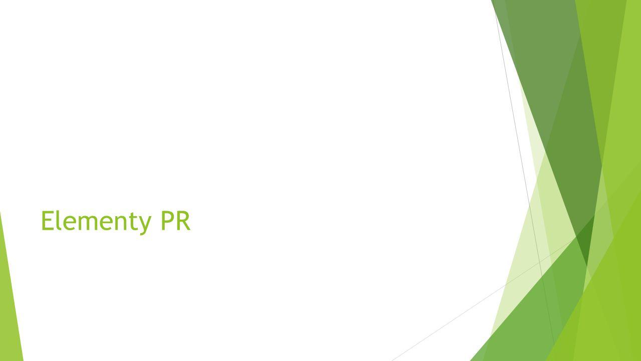 PR jako element ZKM w modelu AIDA Attention Interrest Desire Action Reklama PR Promocja sprzedaży Techniki sprzedaży PR ma budzić i podtrzymywać zainteresowanie Jakie narzędzia/ techniki?