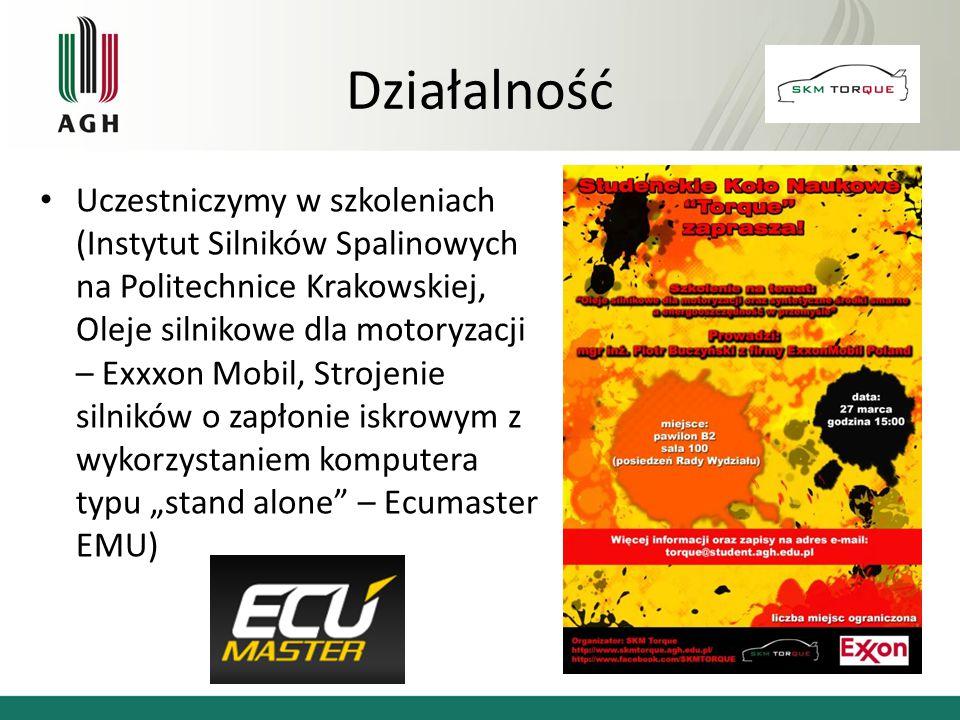 Uczestniczymy w szkoleniach (Instytut Silników Spalinowych na Politechnice Krakowskiej, Oleje silnikowe dla motoryzacji – Exxxon Mobil, Strojenie siln