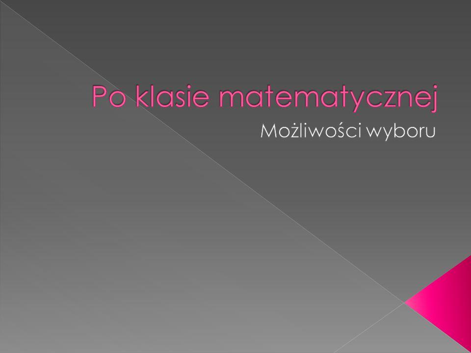  biofizyka  chemia  fizyka  fizyka techniczna  matematyka  matematyka ekonomiczna  zastosowanie fizyki w biologii i medycynie