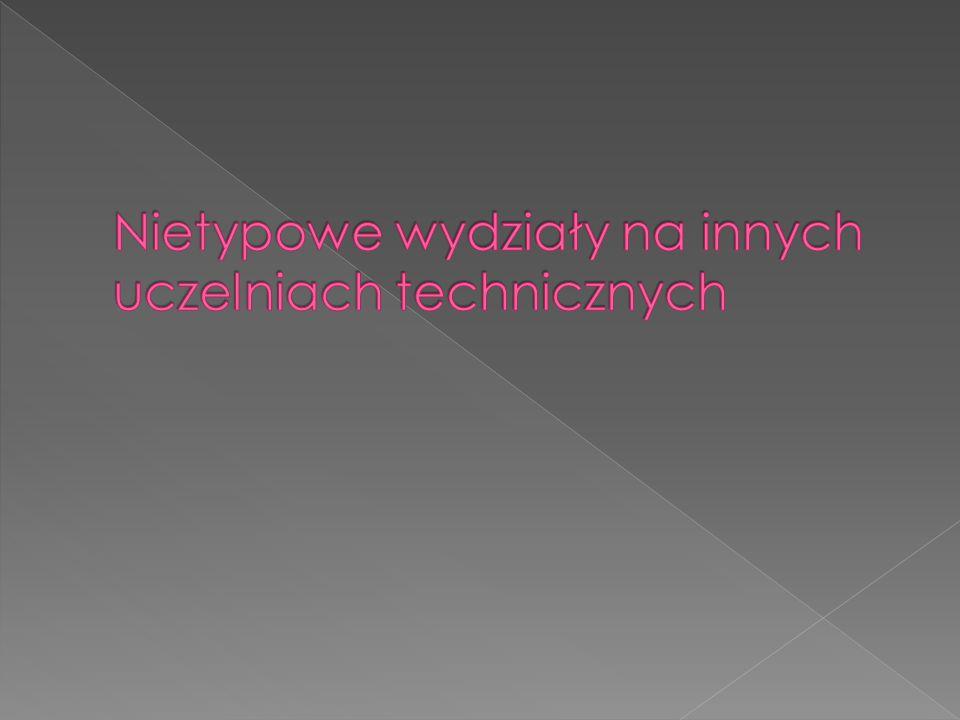  Politechnika Gdańska – wydział Oceanotechniki i Okrętownictwa  Akademia Górniczo – Hutnicza w Krakowie 1.