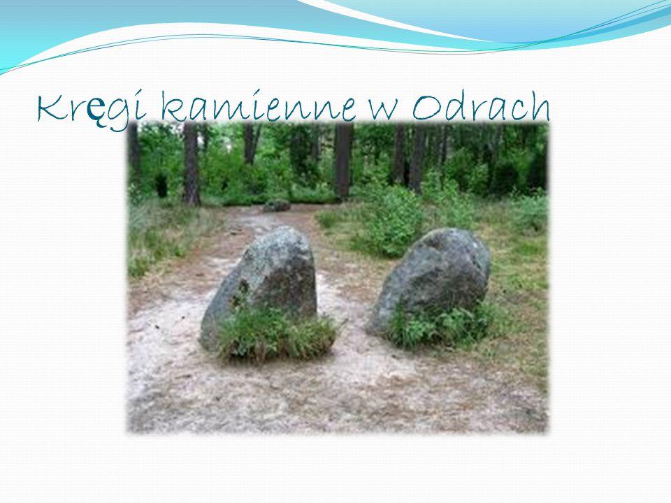 Kr ę gi kamienne w Odrach